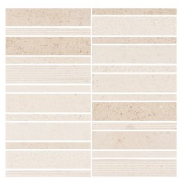 PORCELANATO ECLECTIC FOSSIL TEL 30X30   Stone Wall