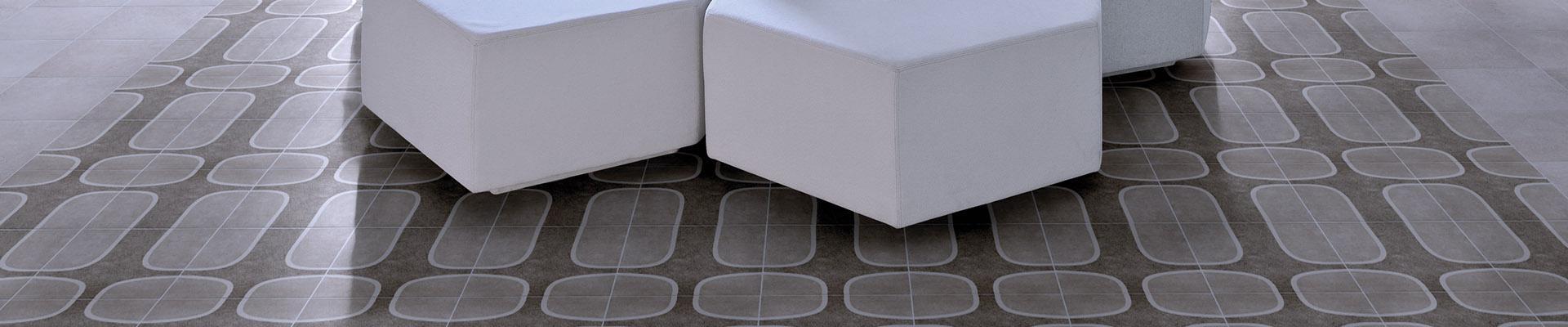 Linha de Revestimento Cerâmico / Porcelanato Rio 21 - Uma interpretação muito contemporânea e autoral do ladrilho hidráulico. Desenhos que formam padrões geométricos a partir de releituras de ícones da cidade maravilhosa.  Uma linha que amplia as opções de personalização de superfícies, mais uma ferramenta para a criatividade em projetos. Com um olho no contexto e outro no detalhe, as propostas com Rio 21 serão sempre originais.