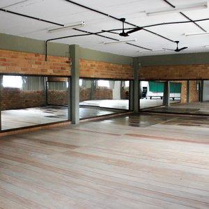 Sala de dança Ginásio Escola