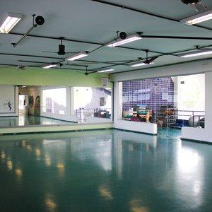 Sala de dança na Academia