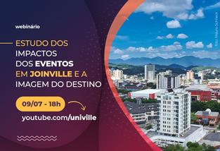 Webinário com ex-ministro apresenta estudo  sobre os impactos dos eventos em Joinville