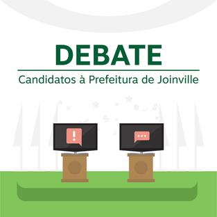 Univille e DCE promovem debate com os candidatos e candidatas à prefeitura de Joinville