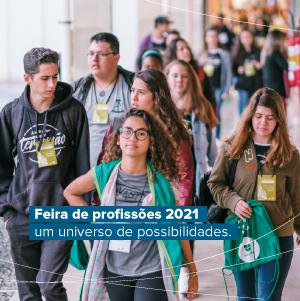 Feira de profissões 2021: um universo de possibilidades