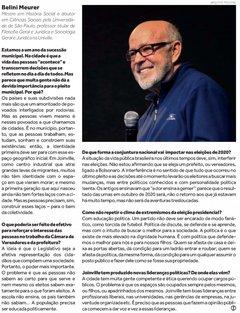 Entrevista: professor Belini Meurer